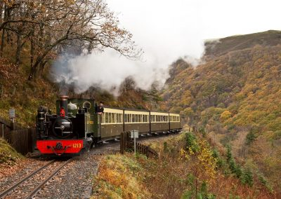 Rheidol Railway - Mid-Wales Steam Railway - Images by John R Jones (15)