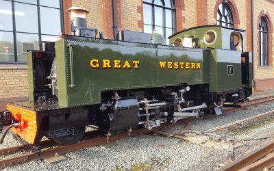 Adeiladodd GWR 1923 Rhif Tanc Rheidol