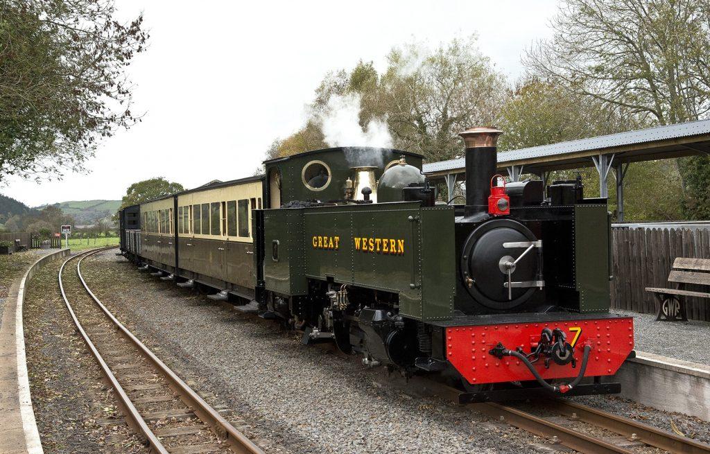 Locomotives - Vale of Rheidol Railway