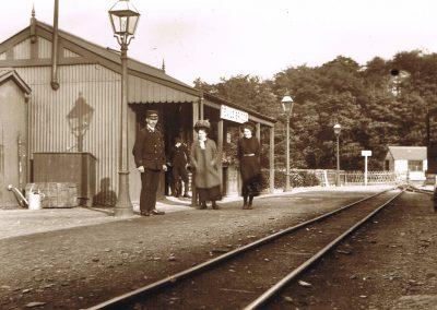 Devils bridge in victorian times