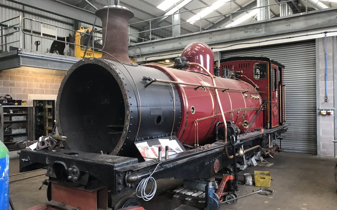Garratt No.60 - Awst 2019