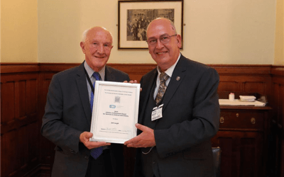 VoR Team Member Jeff Cargill Honoured for His Work as an Archive Conservator