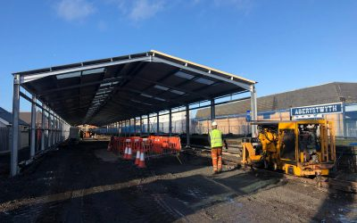 Latest Update on our Museum Collection and Heritage Rolling Stock Protection Shed